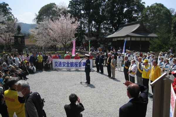 春の交通安全県民運動で様々な活動を実施しました