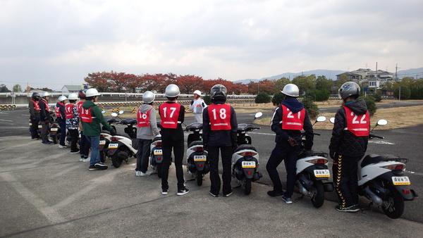 高校生に対する交通安全実技講習会の実施
