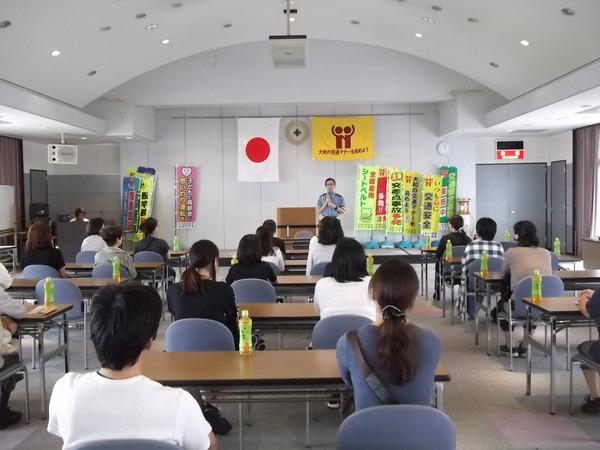 直営の橿原中央自動車学校でペーパードライバー講習会を開催しました
