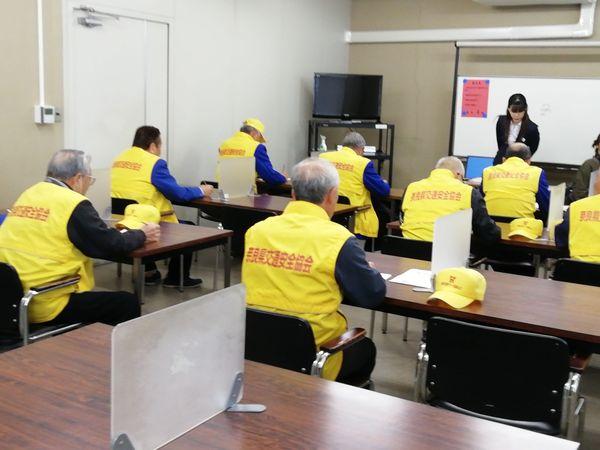 高齢運転者支援室発足式と会場視察