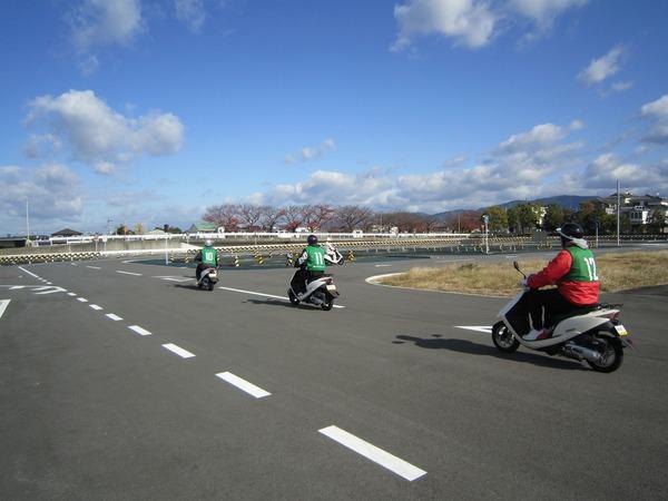 高校生に対するミニバイク講習会の実施
